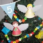 paper Christmas angel printable