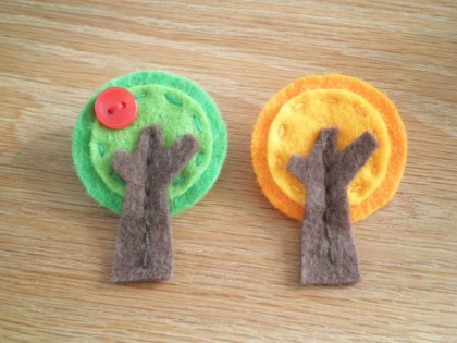 apple tree brooch tutorial
