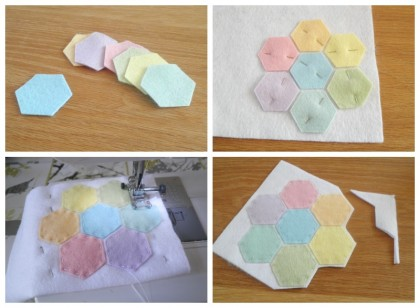 hexagon coaster tutorial