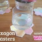 hexagon coaster tutorial